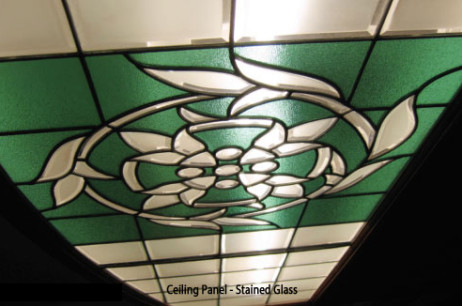 Ceiling Panel Stained Glass