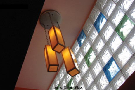 Lamps Stained Glass