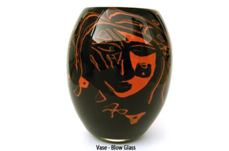 Vase Blow Glass