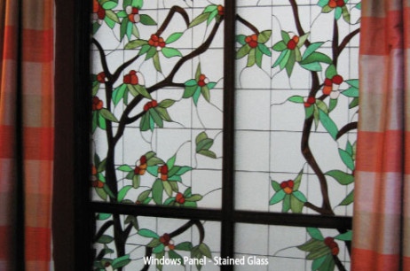 Windows Panel Stained Glass